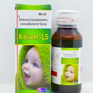 Kidivent LS Syrup 60 ML