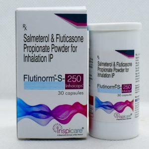 FLUTINORM-S-250 Inhacaps(DPI)