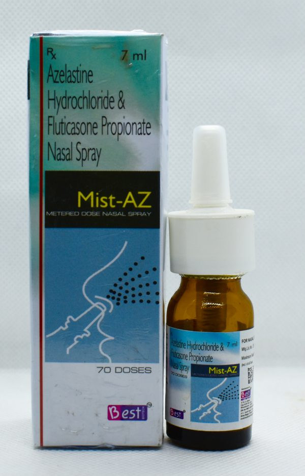 MIST-AZ Metered dose nasal sprays